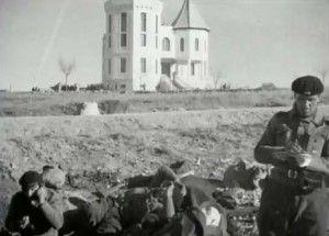 """""""Casa de la Radio"""" antes de la Batalla del Jarama"""