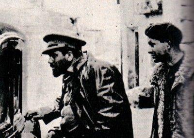 "Valentín González ""El Campesino"" y Gustav Regler"