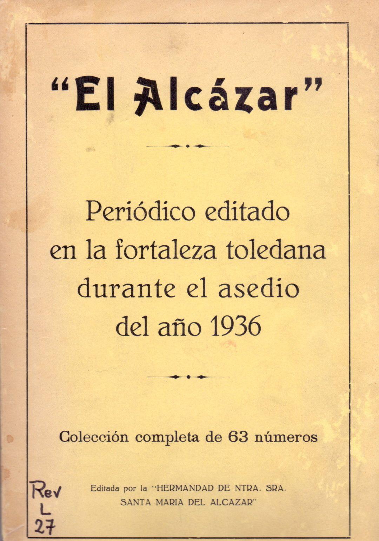 Periódico El Alcázar