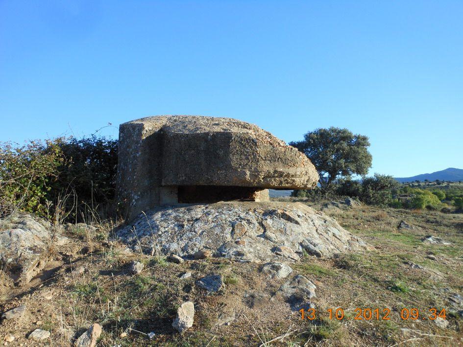 Fortín nacional en carretera a Prádena