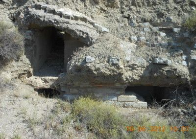 Fortificaciones republicanas la Salmedina