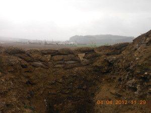 Trinchera republicana frente a la Marañosa. Batalla de el Jarama
