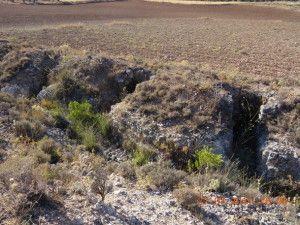 Trincheras republicanas de Valgrande. El Jarama
