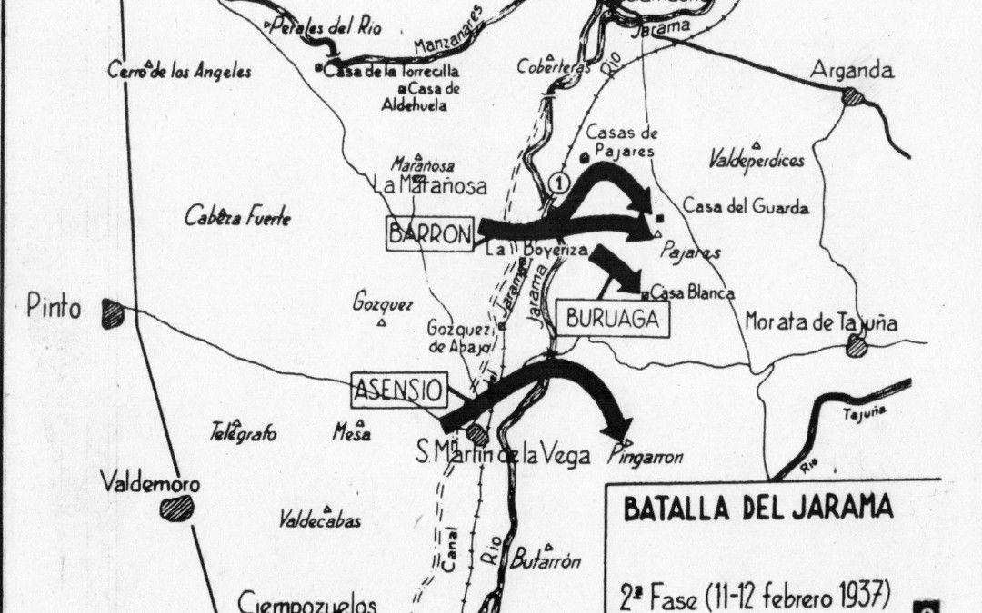 Batalla del Jarama. 2ª Fase