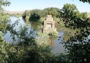 Estado actual del puente de Pindoque sobre el Jarama