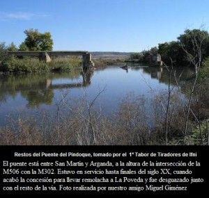 restos puente PINDOQUE