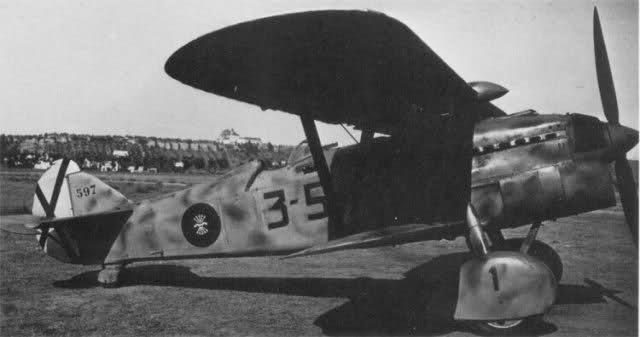 Caza Cr-32 Chirris. Aparato de García Morato