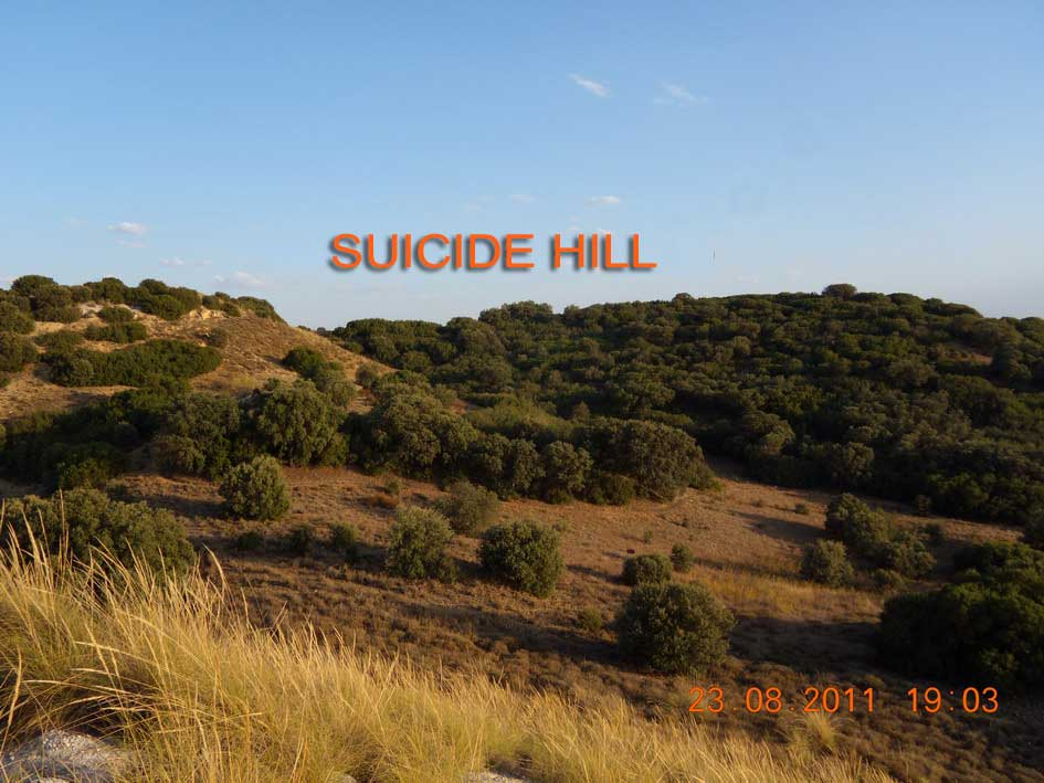 The Suicide hill. La colina del suicidio. Batalla del Jarama