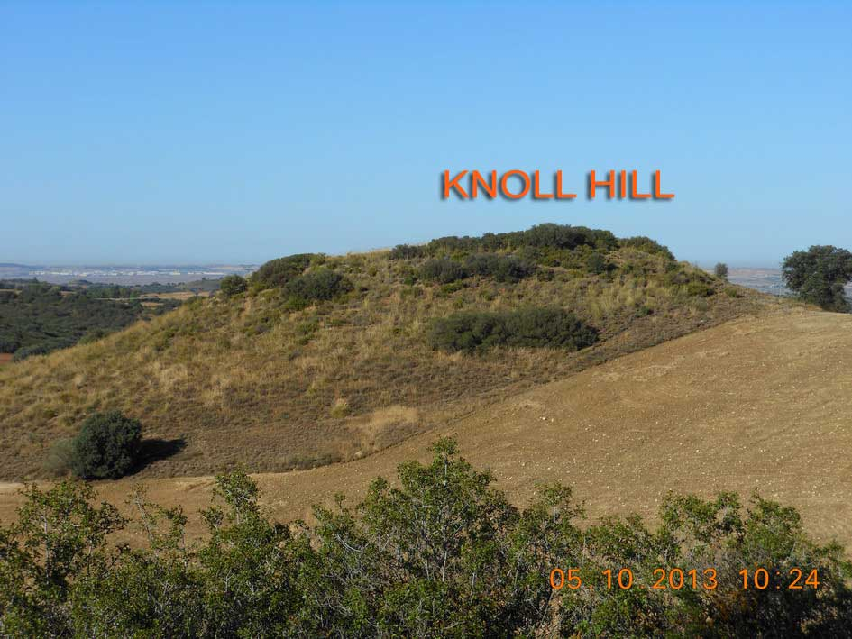 The Knoll hill. Batalla del Jarama