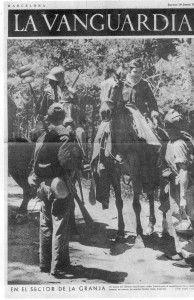 Ofensiva republicana sobre Segovia. La Vanguardia. Julio 1937 - I