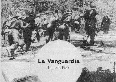 La Vanguardia. Julio 1937. Ofensiva sobre Segovia II