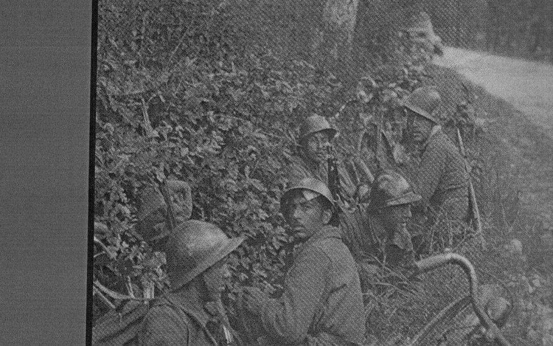 Tropas republicanas en la ofensiva de La Granja – Julio 1937