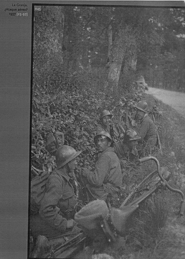 Tropas republicanas en La Granja - Julio 1937