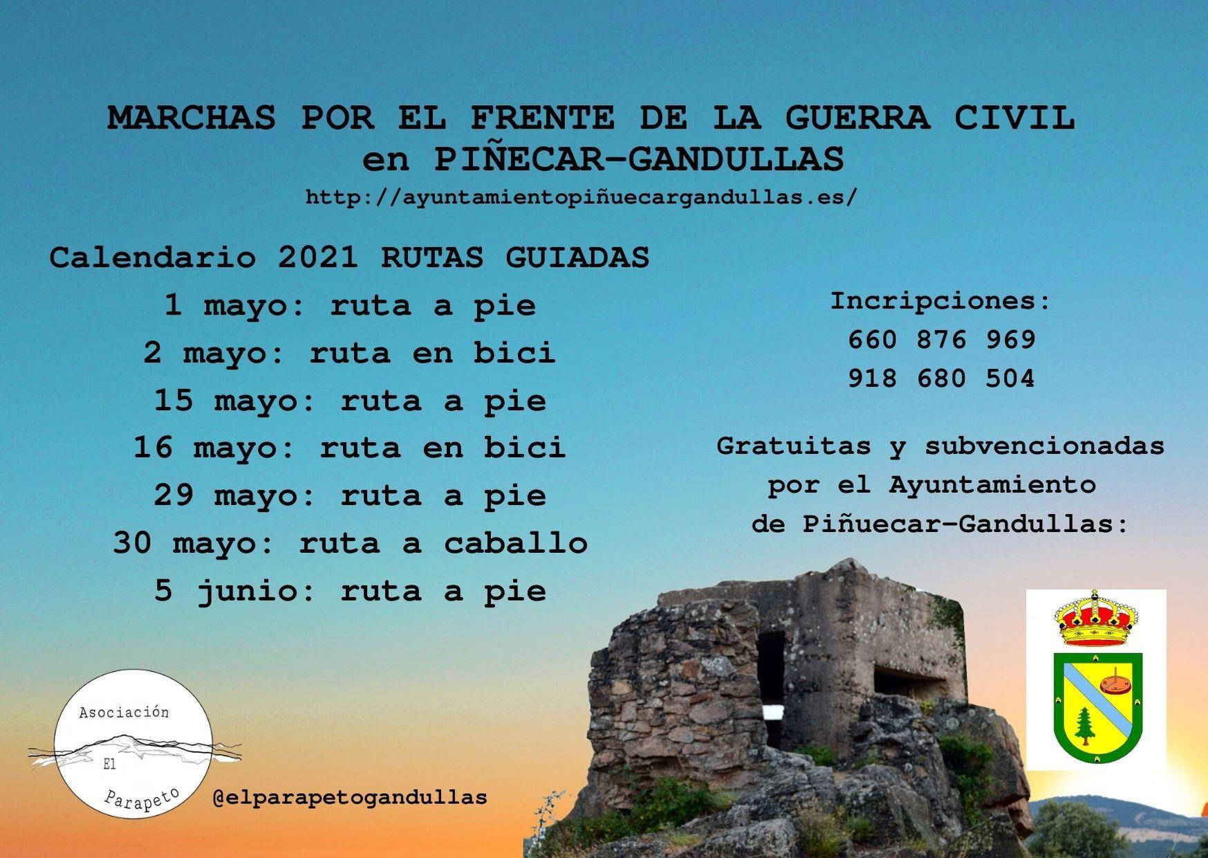 Rutas guiadas por Piñuécar Gandullas